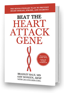 Beat the Heart Attack Gene - Book by Bradley Bale and Amy Doneen